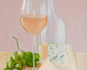 Still Life with Blue Cheese